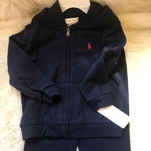 Ralph Lauren Navy jogging suit